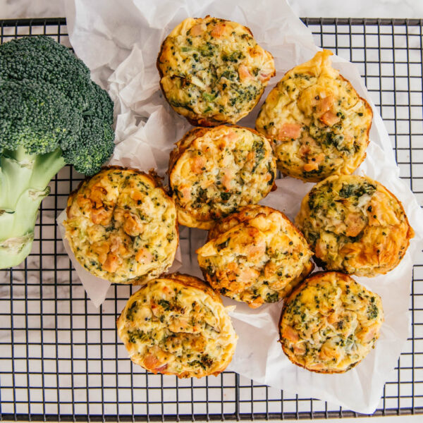 broccoli and cheese muffins